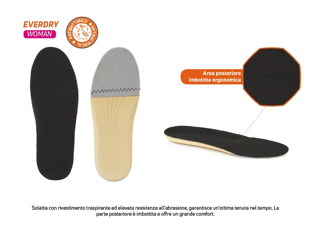 solette calzature di sicurezza